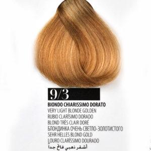 Tintura Capelli 93 Biondo Chiarissimo Dorato Farmagan Hair Color Tubo 100ml