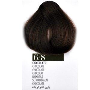 Tintura Capelli 68 Cioccolato Farmagan Hair Color Tubo 100ml