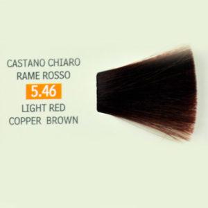Tintura per Capelli 5.46 Castano Chiaro Rosso Rame Genius Color Pak ... 8de606f38cd8