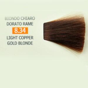Tintura per Capelli 8.34 Biondo Chiaro Dorato Rame Genius Color Pak ... ccac620e7f98